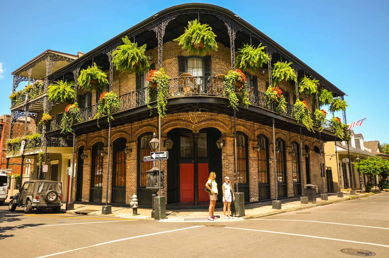 Business Class flights to New Orleans