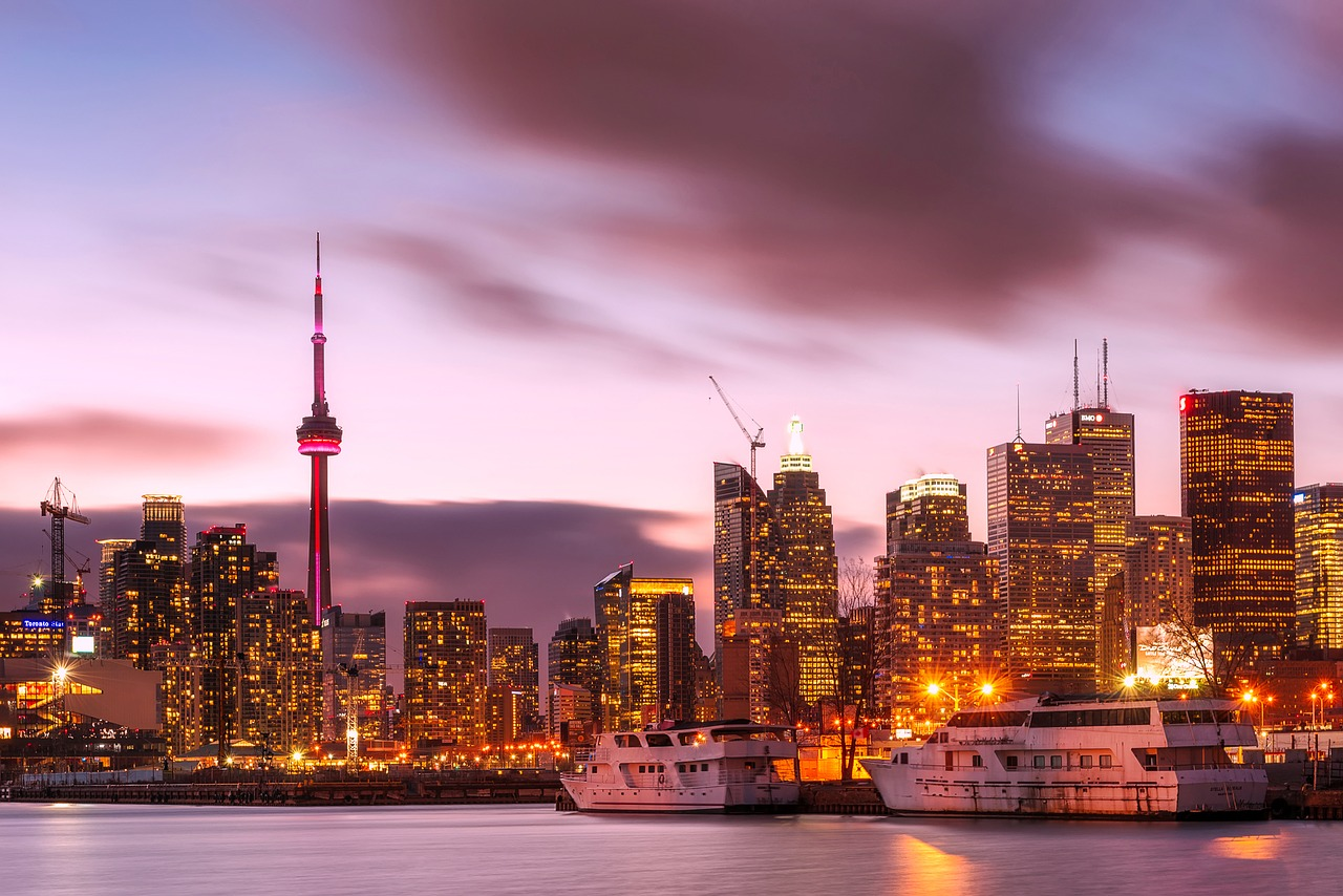 Business Class flights to Toronto