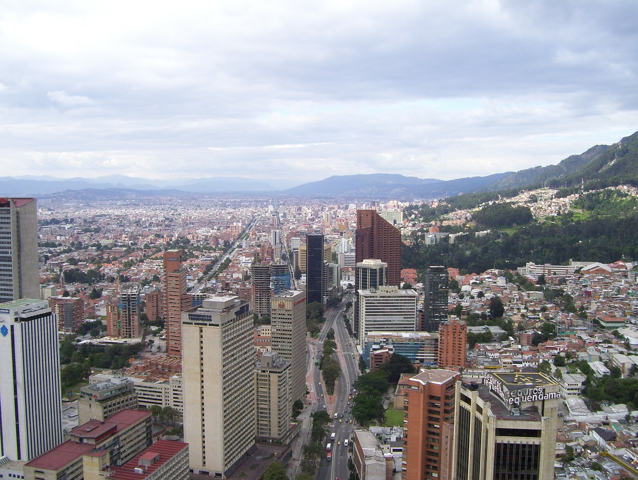 Business Class Flights to Bogota