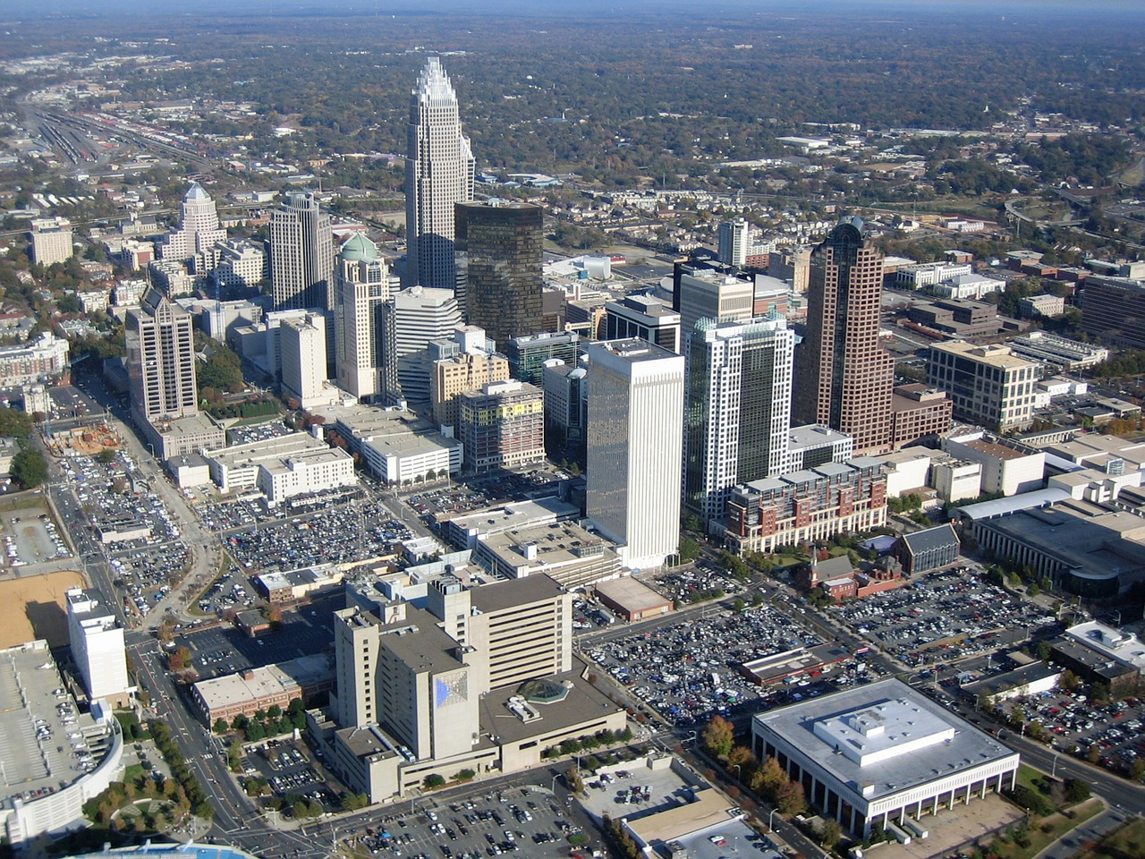 Business Class Flights to Charlotte