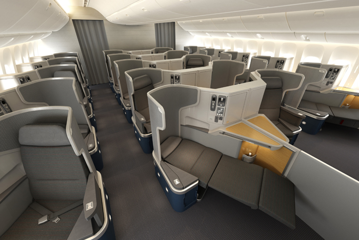 American Airlines Business Class 777-300 R