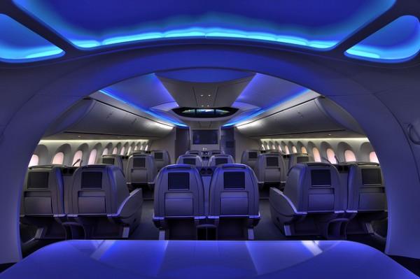 British Airways Dreamliner Business Class Interior