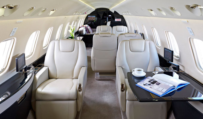 Over The Top Luxury Private Jets