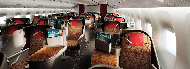 Business Class Profiles Garuda Indonesia 777 300er