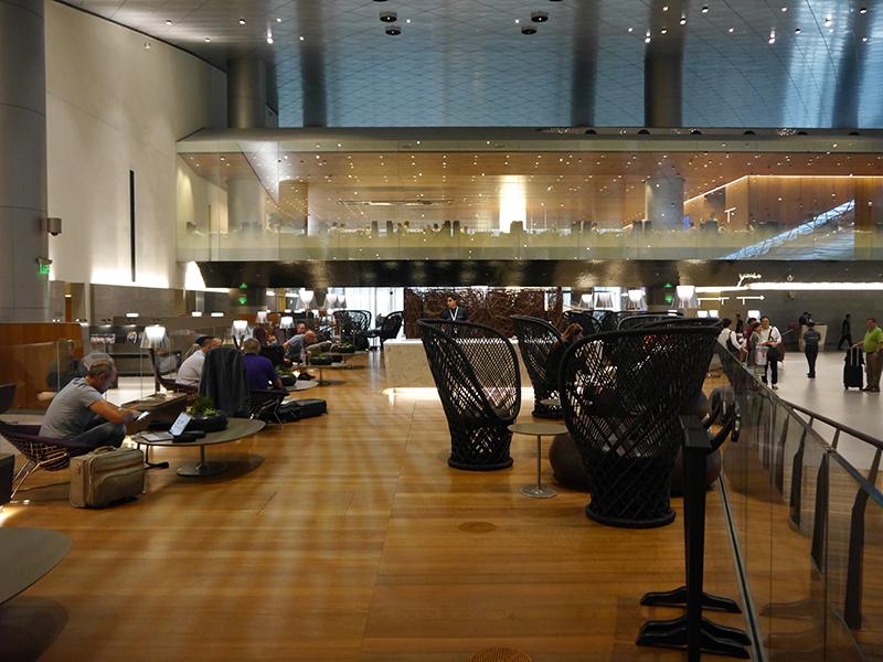 Qatar Airways Business Lounge Doha