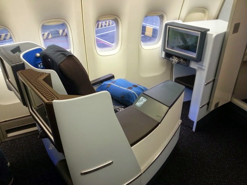 Best Business Class On A Boeing 747