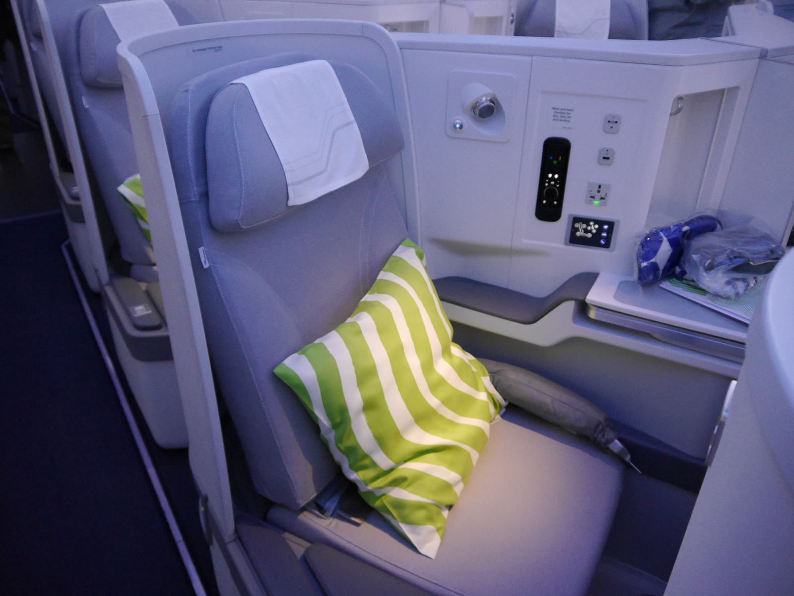 Finnair_Business_Class_Seat