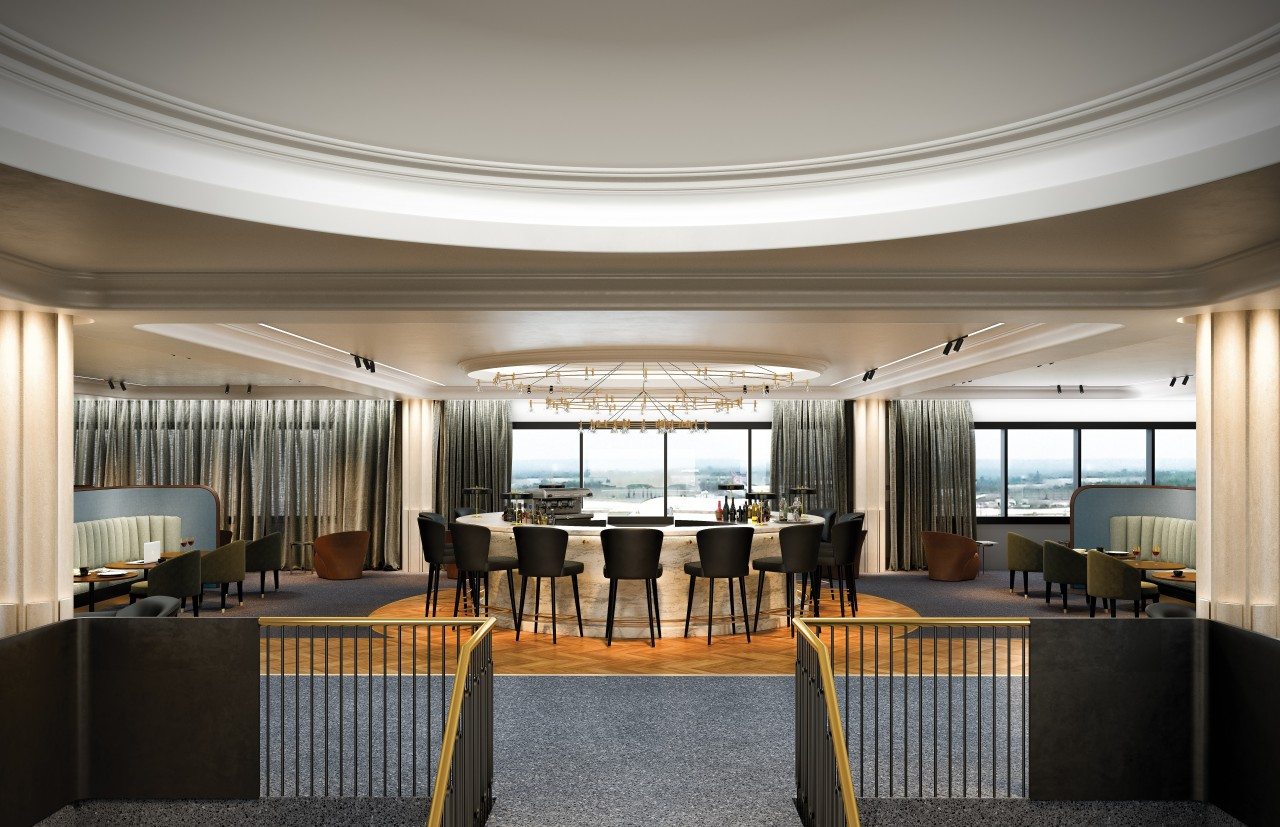 Introducing Qantas' new premium lounge at London Heathrow. Opening early 2017 Image 1