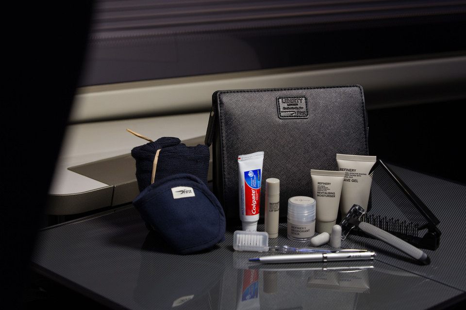 British Airways First Class Amenity Kit by Liberty London