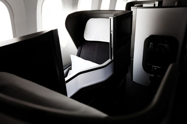 British Airways Club World Business Class 787