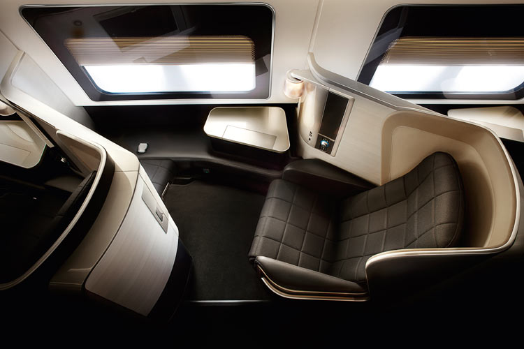 British Airways First Class Seat