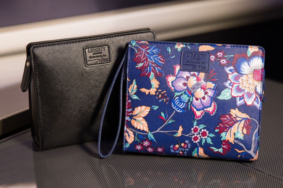 British Airways Liberty First Class Amenity Kits