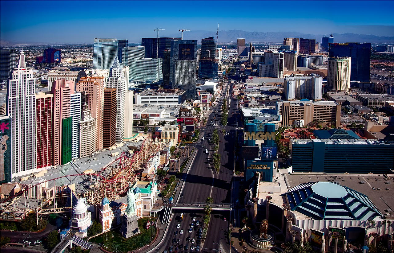 The las Vegas Strip - Las Vegas Business Travel Guide