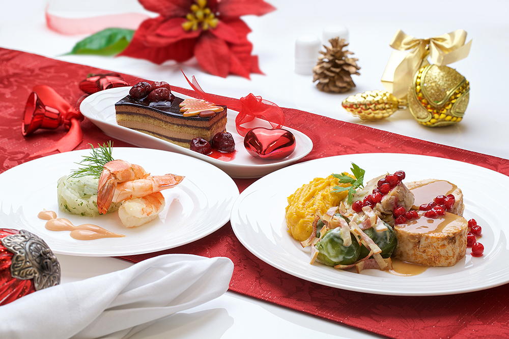 Emirates Christmas Menu
