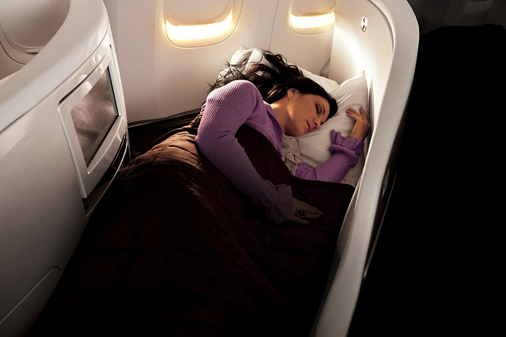 Air New Zealand Business Premier London to Los Angeles