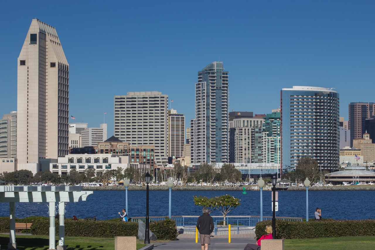 Business Class flights to San Diego