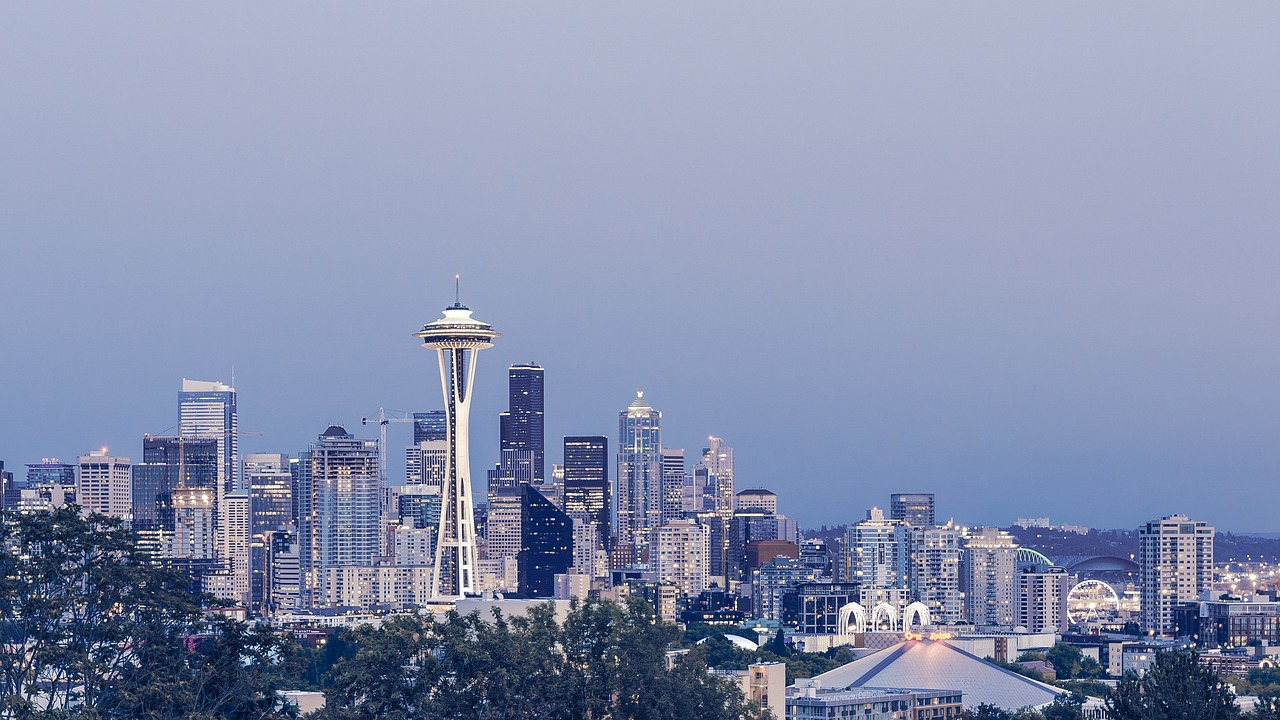 Business Class flights to Seattle