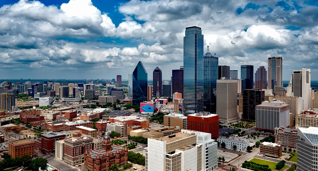 Business Class flights to Dallas Texas