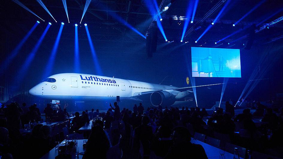 Lufthansa A350-900 Launch