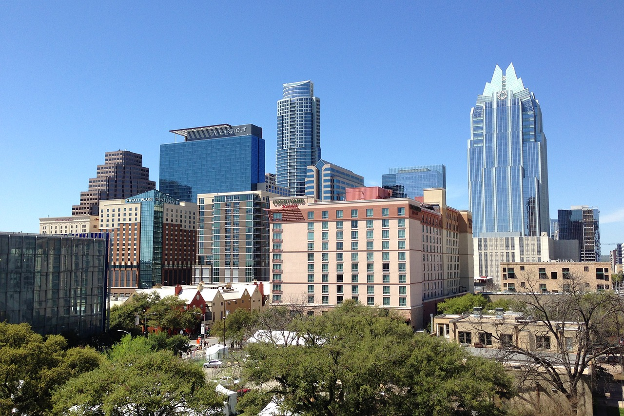 Business Class flights to Austin Texas