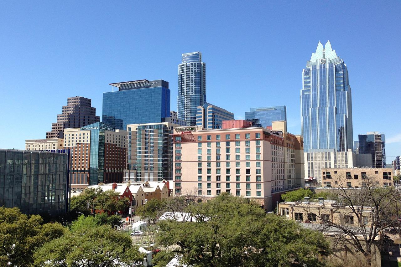 Business Class flights to Austin Texas