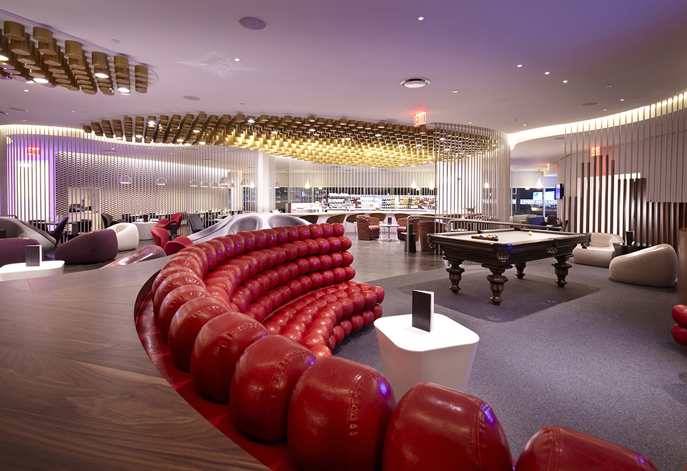 jfk virgin atlantic clubhouse - business class lounges at JFK airport