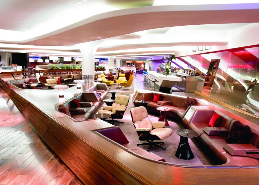 Virgin Atlantic Clubhouse London Heathrow
