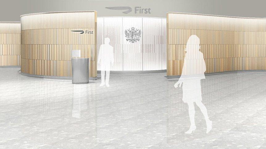British Airways First Wing Terminal 5
