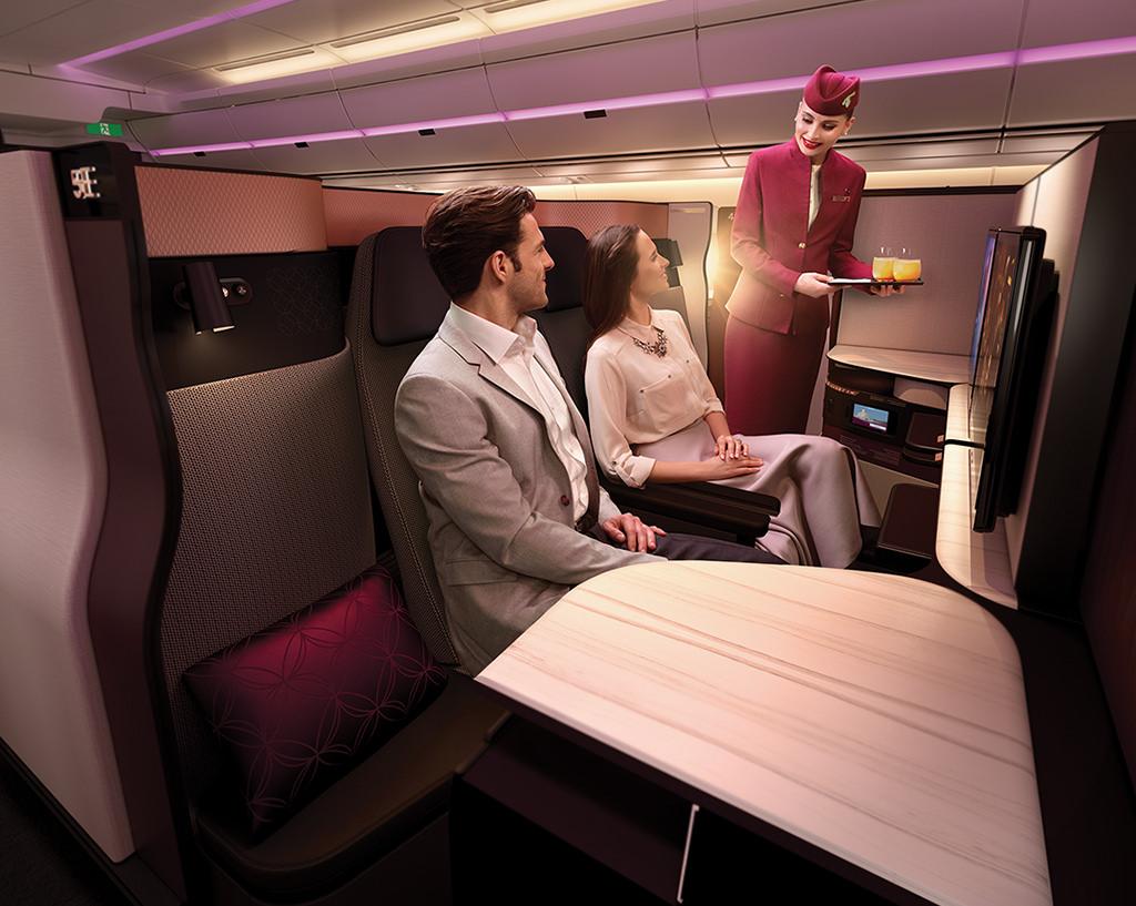 Qatar Airways New Business Class Qsuite