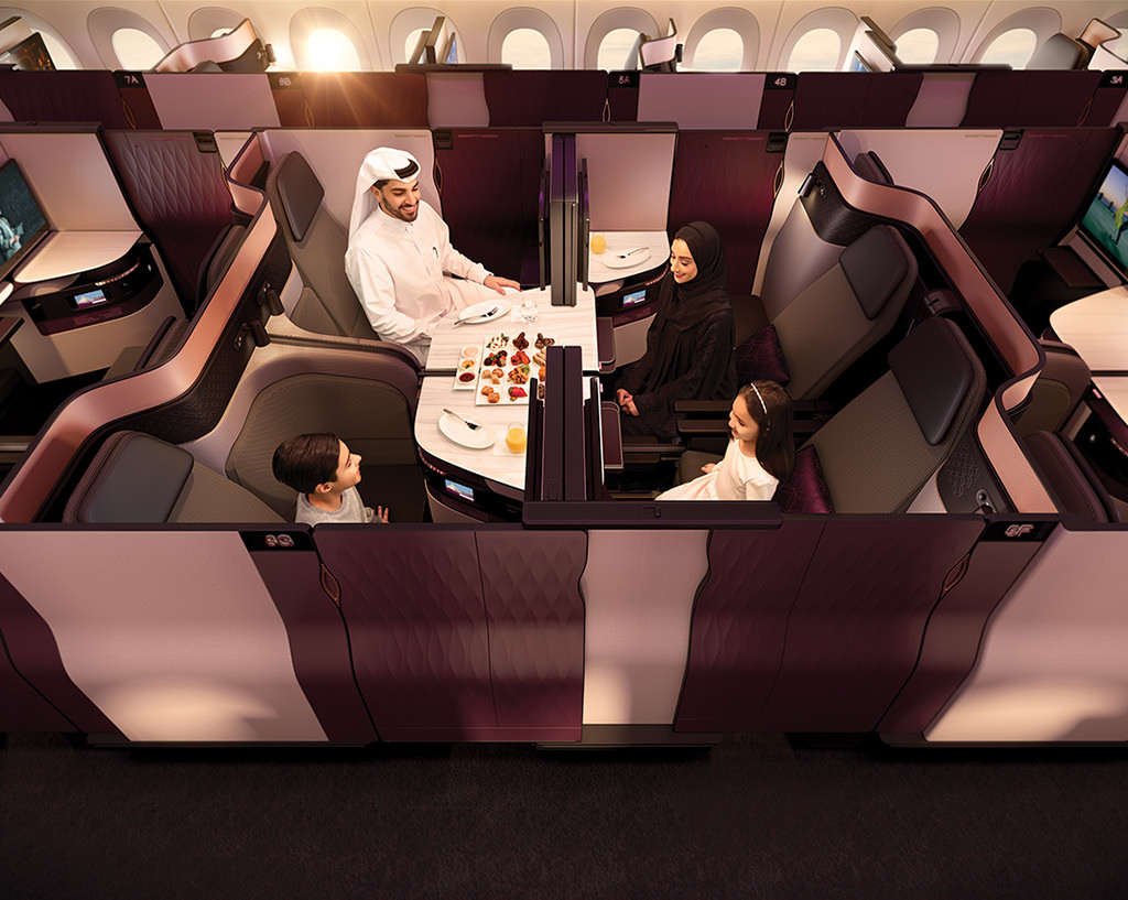 Qatar Airways New Business Class QSuite