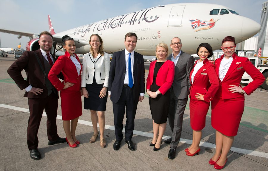 Virgin Atlantic launches flights from Manchester to San Francisco