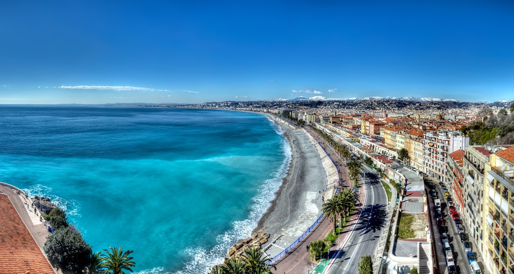 Baie des anges France