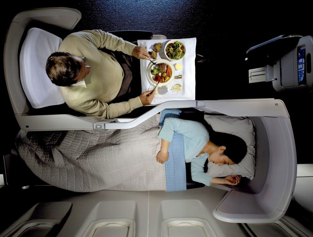 British Airways Club World - which airline has the best business class to Australia?