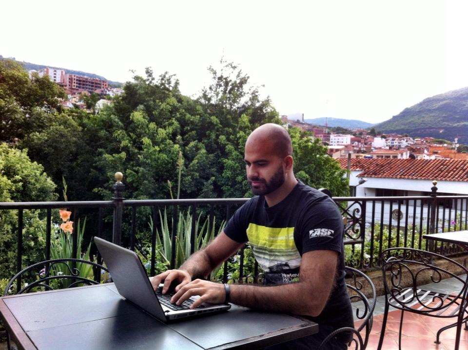 Amar Hussain Digital Nomad Colombia