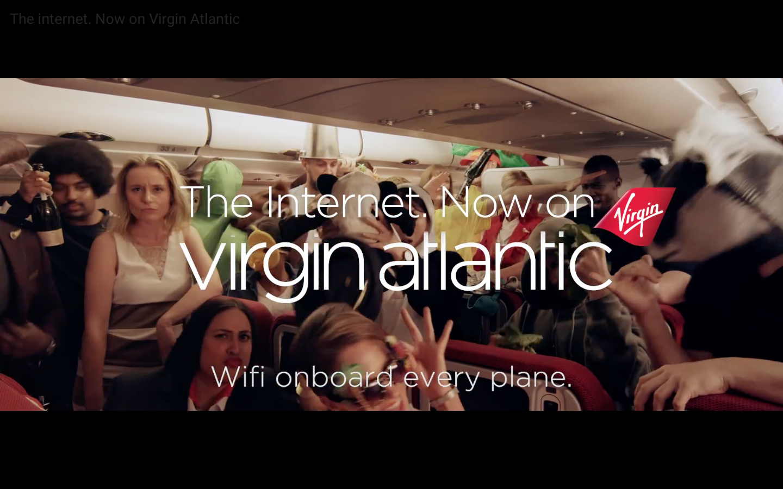 Virgin Atlantic WiFi