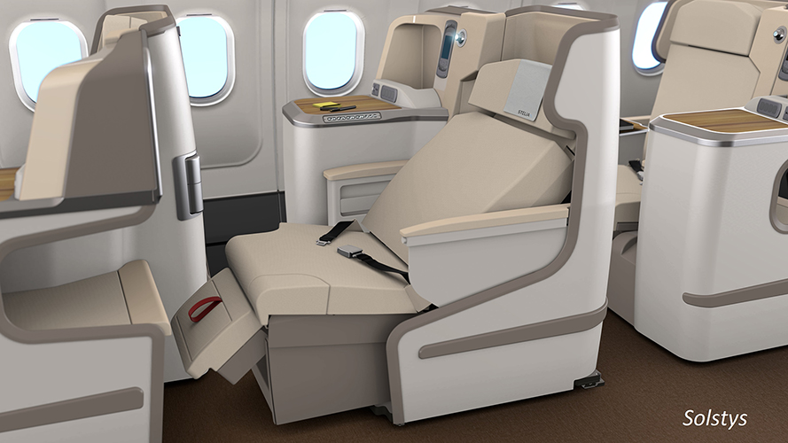 Solstys Business Class Seat