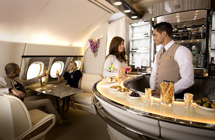 Emirates Onboard Bar