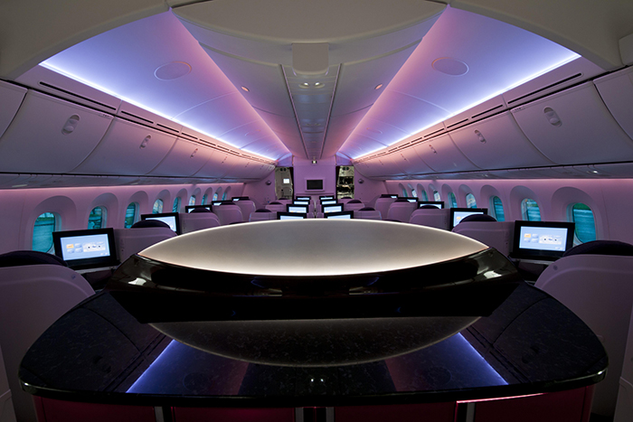 Which is the best passenger aircraft? Qatar Airways Dreamliner Business Class