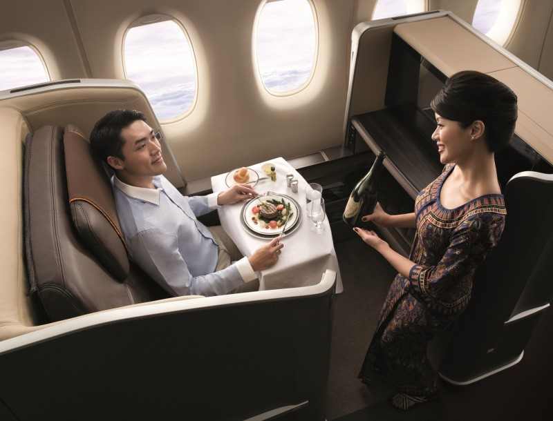 Singapore Airlines Wine