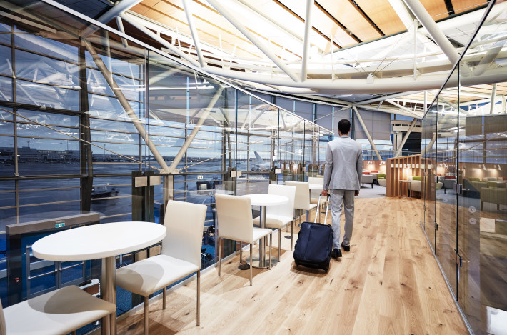 SkyTeam Lounge Vancouver International