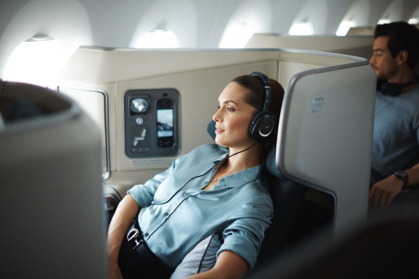 Cathay Pacific A350 Business