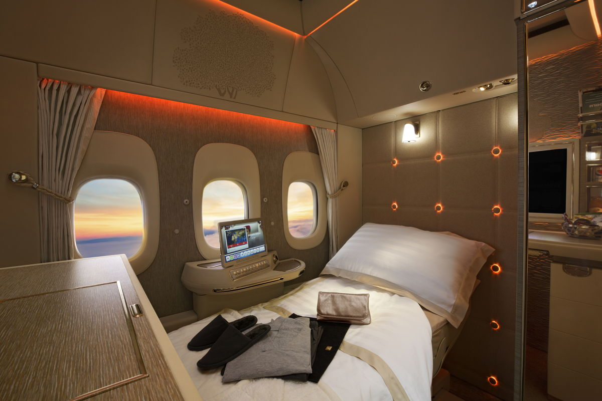 Emirates Fully Enclosed First Class Suites