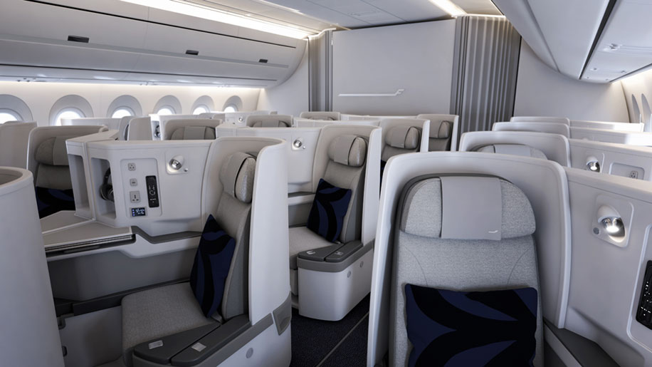 Finnair New Business Class