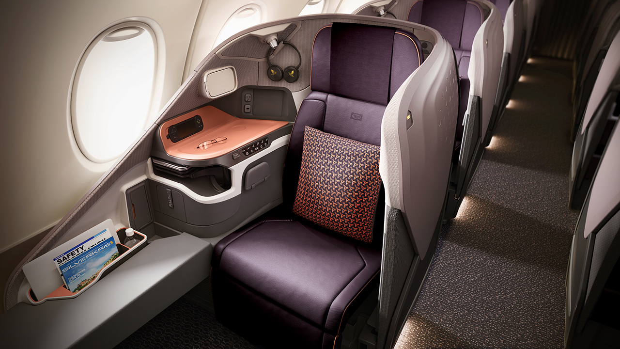 Singapore Airlines New A380 Cabin Products Take Off