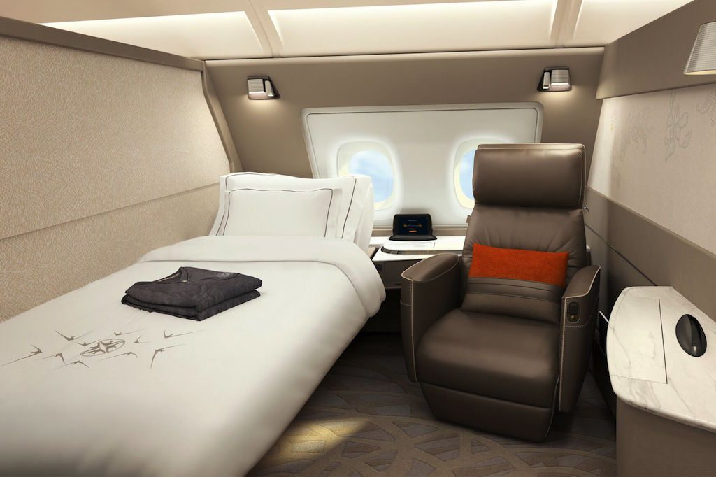 Singapore Airlines New A380