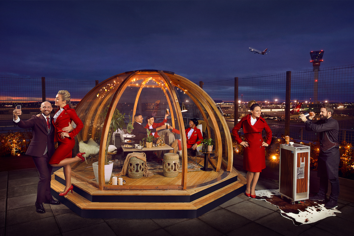 Virgin Atlantic Igloo