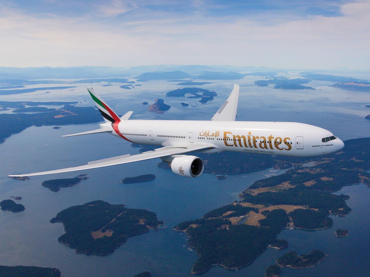 Emirates Dubai to Newark