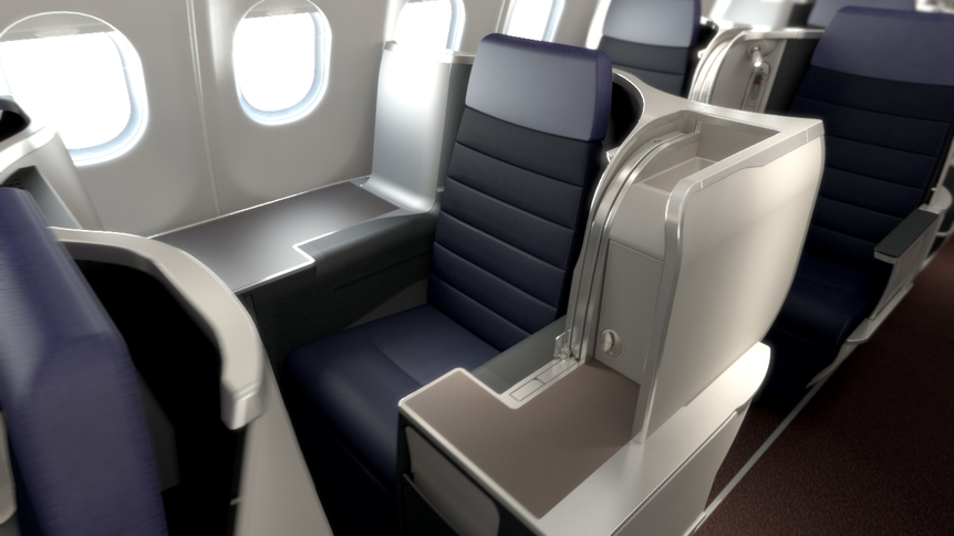 Malaysia Airlines Business Class A350