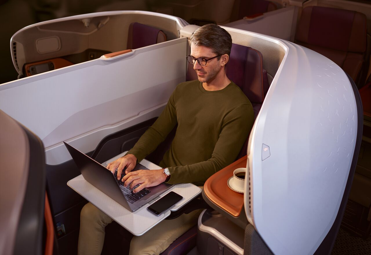 Singapore Airlines Business Class - New