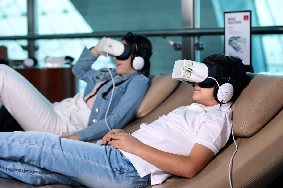 Emirates Innovative Headsets